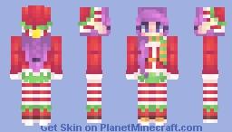 elfy christmas - reshade Minecraft Skin