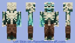 Revenant Of The Frozen Seas Minecraft Skin