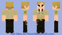 Rick Grimes [Days Gone Bye] // #1 Minecraft Skin