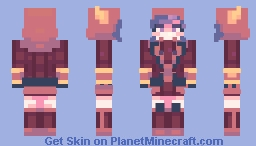 courtney - pkmn or/as Minecraft Skin