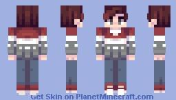 Winter Story Minecraft Skin