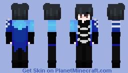 female vers - yuuri katsuki Minecraft Skin