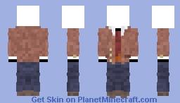 Doki Doki Literature Club Uniform [Boys: Version 3] (Coat Open, Tie Showing) Minecraft Skin