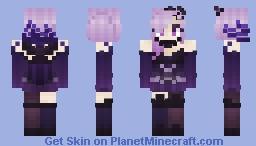 Elementalist Dark Lux Minecraft Skin