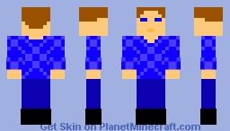 Blue awesomeness Minecraft Skin