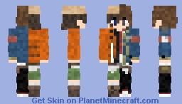 Amano Yukiteru // Ethan William´s [Mirai Nikki 1, 2] Minecraft Skin
