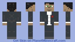 Classy Male Minecraft Skin