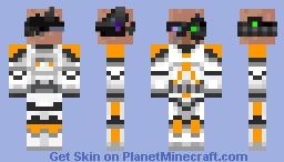 CyborgVillager Skin Minecraft Skin