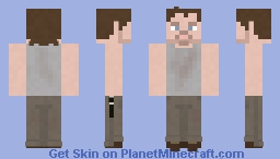 Daryl Dixon   The Walking Dead   Tell It to the Frogs Minecraft
