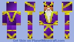 Evil Wizard Enoch Minecraft Skin