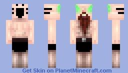 |Chabilulu| GET OFF MY SCHNARLBOARK YOU STINKY KIDS Minecraft Skin