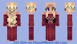 Sparkeling Jasmine Minecraft Skin