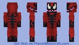 MARVEL - Carnage Minecraft Skin