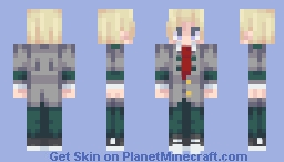 Neito Monoma - My Hero Academia Minecraft Skin