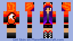 BleedingBlack's New Skin Minecraft Skin
