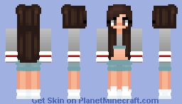 Play With Kath's Cool Outfit Minecraft Skin