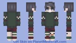 festive qt Minecraft Skin
