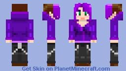 Rousheen's hoodie version Minecraft Skin