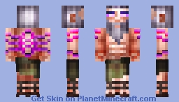 Ari-SWOLE-tle Minecraft Skin