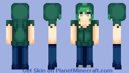 Zombie Girl/Boy (Design by AT-2) Minecraft Skin