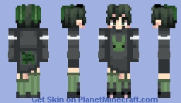 bunny izuku Minecraft Skin