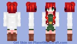 𝓁𝓊𝓃𝒶𝒸𝒽𝓊𝓊 ~ redhead Minecraft Skin