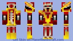 The Red Terror Minecraft Skin