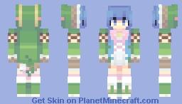 i said hi Minecraft Skin