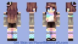 true colors Minecraft Skin