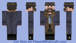 Red Dead Redemption II - Arthur Morgan - Gunslinger ( Winter ) Minecraft Skin