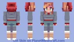 Ashley   Until Dawn Minecraft Skin