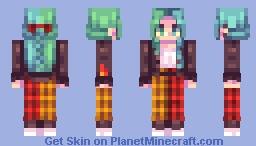 attention Minecraft Skin