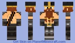 Red-Bearded Dwarf/Viking Minecraft Skin