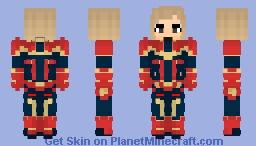 Captain Marvel 2019 Minecraft