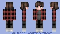 James Diehl (jrdiehl96) --Youtuber-- Minecraft Skin