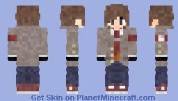 Ethan Winter [Doki Dok Literature Club-OC] [Version 3] Minecraft Skin