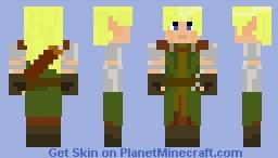 Elven ranger Minecraft Skin