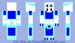 Ice Dragon Warrior Minecraft Skin