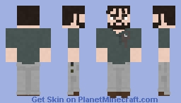 Jed   The Walking Dead   The Obliged Minecraft Skin