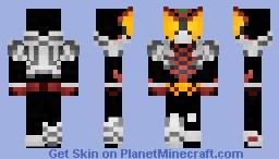 Kamen Rider Kiva Kiva Form 仮面ライダーキバキバフォーム Minecraft