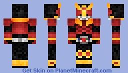 Kamen Rider Kuuga Mighty Form 仮面ライダークウガ Minecraft Skin