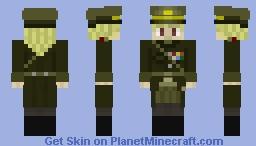 ♀ Military Officer Minecraft Skin