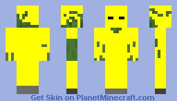 Zombie Drowsed in Gold Minecraft Skin