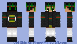 Guccied Down SoundCloud Rapper Minecraft Skin