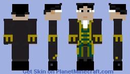 Cutler Beckett (Pirates Of the Caribbean AWE) Minecraft Skin