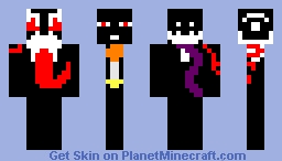Evil Emotion (Past Creations) Minecraft Skin