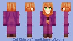 Villager Girl (Priest) (Design by AT-2) Minecraft Skin
