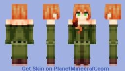 Villager Girl (Nitwit) (Design by AT-2) Minecraft Skin