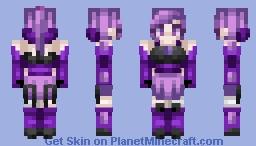 Dark Lux [Mystic] || League of Legends || Skin Request Minecraft Skin