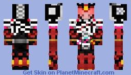 Kamen Rider Zi-O Decade Armor OOO Form 仮面ライダージオウディケイドアーマーオーズフォーム Minecraft Skin